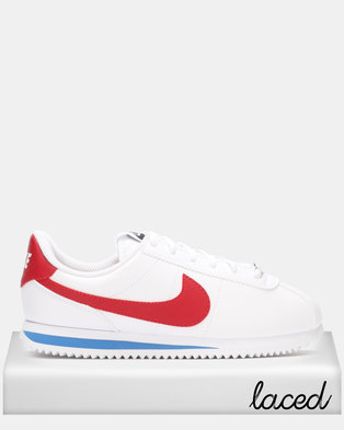 premium selection c58f3 8afe7 Nike Cortez Basic SL Sneakers White