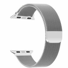 Buyitall.today Milanese Loop for Apple Watch 38mm & 40mm- Silver