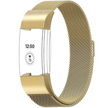 Buyitall.today Milanese Loop for Fitbit Charge 2 Gold