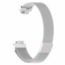 Buyitall.today Milanese Loop for Fitbit Inspire Silver