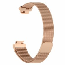 Buyitall.today Milanese Loop for Fitbit Inspire Rose Gold