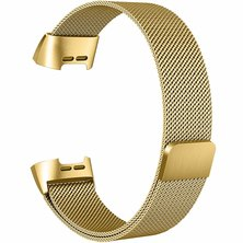 Buyitall.today Milanese Loop for Fitbit Charge 3 Gold