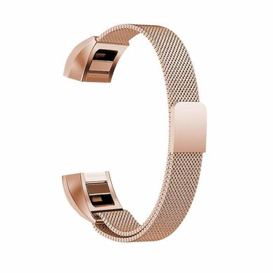 Buyitall.today Milanese Loop for Fitbit Alta Rose Gold
