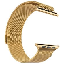 Buyitall.today Milanese Loop for Apple Watch 42mm & 44mm - Gold
