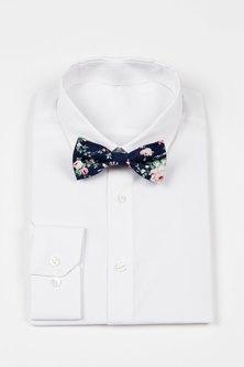 JCclick Shop Nate Floral Bow Tie