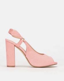 PLUM Slingback Heel Pink