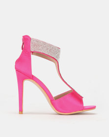 PLUM T Bar Heel Pink