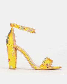 PLUM Patterned Heel Yellow