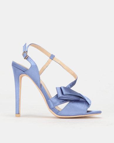 PLUM Canal Heel Sandal Blue
