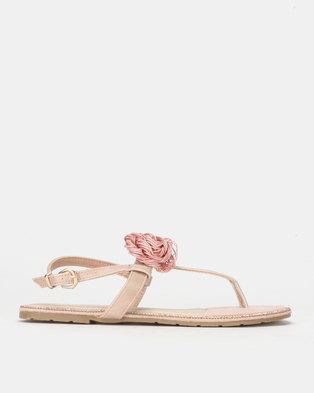PLUM Ankle Strap Sandal Pink