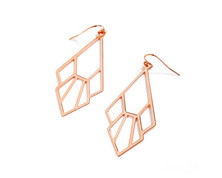 The Jeweller's Florist Tiger Lily Earrings - Rose Gold