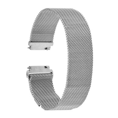 Buyitall.today Milanese Loop for Fitbit Blaze Silver