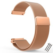 Buyitall.today Milanese Loop for Fitbit Blaze Rose Gold