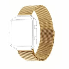 Buyitall.today Milanese Loop for Fitbit Blaze Gold