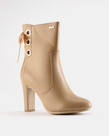 PLUM Donna Ankle Boot Nude