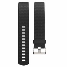Buyitall.today Classic silicone band for Fitbit Charge 2 Black