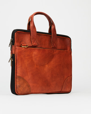 Buyitall.today Leather Laptop/Messenger Bag 15