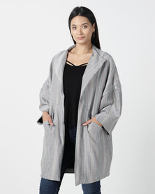Nucleus Play Coat in Silver