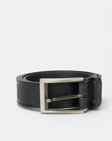 Polo Belts Romeo Leather Belt Black