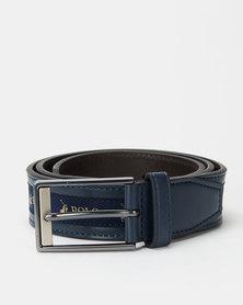 Polo Belts Lorenzo Leather Belt Blue