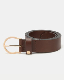 Polo Belts Elizabeth 35MM Belt Brown