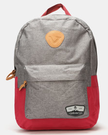 Volkano Nitro 15.6 Laptop Backpack Grey/Red