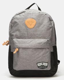Volkano Nitro 15.6 Laptop Backpack Grey/Black