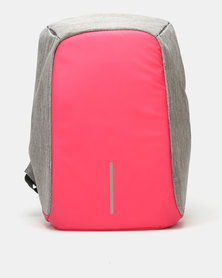 Volkano Anti-theft Smart Backpack Pink