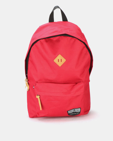 Volkano Distinct Backpack Red