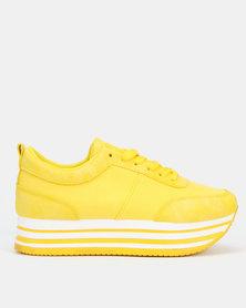 Tom_Tom TT-L Rock Sneakers Bright Yellow