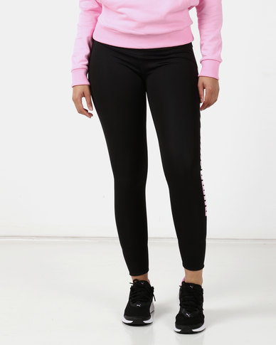 Puma Sportstyle Core Modern Sports Fold Up Leggings Black