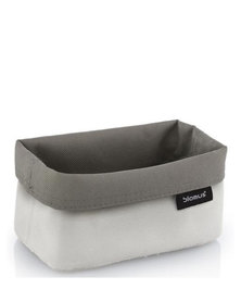 blomus Ara Medium Reversible Storage Basket in Sand-Taupe