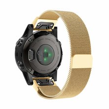 Buyitall.today Milanese Loop for Garmin Fenix 5S / 5S Plus (20mm)  Gold