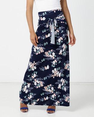 JanaS Erna Maxi Skirt Navy