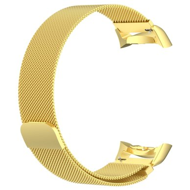 Buyitall.today Milanese Band for Samsung Gear S2 SM-R720 / SM-R730 Gold