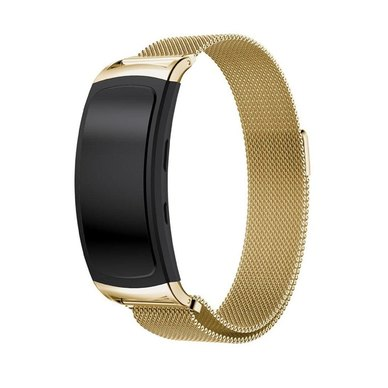 Buyitall.today Milanese Band for Samsung Gear Fit2 Pro/ Fit2 Gold