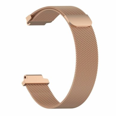 Buyitall.today Milanese Loop for Garmin Forerunner 235 Rose Gold