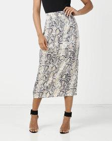 SassyChic Gia Dress Snakeskin Print