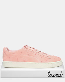 Puma Sportstyle Prime Suede Studs Wn's Bridal Rose-Marshmallow