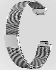 Gretmol Silver Mesh Strap For Fitbit Inspire And Inspire HR Tracker- Small
