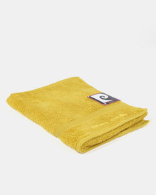 Pierre Cardin Bath Towel Yellow