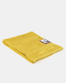 Pierre Cardin Bath Sheet Yellow