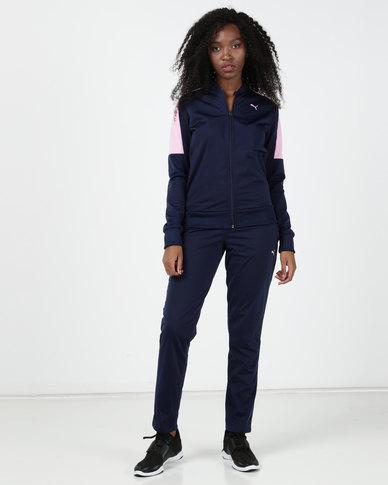 Puma Sportstyle Core Clean Tricot Suit Blue