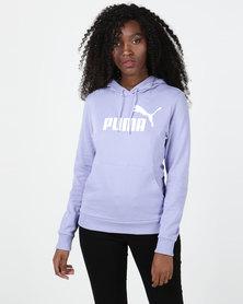 Puma Sportstyle Core Ess Logo Hoodie Purple