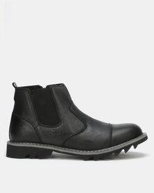 Bronx Men Glanworth Boots Black
