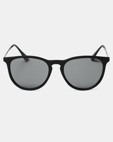 CHPO Roma Turtle Sunglasses Black/Black