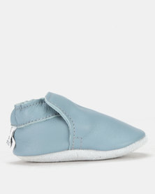 Shooshoos Fort Clipper Pull-on Prewalker Blue