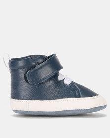 Shooshoos All Aboard High Top Sneakers Blue