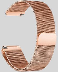 Gretmol Rose Gold Milanese Fitbit Versa Replacement Strap