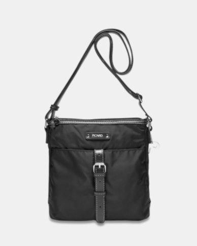 a4dbac55905 Picard Sonja Fabric Shoulder Bag Black